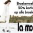 Nu 20% korting op alle broeken tijdens de broekenweken bij La Mode